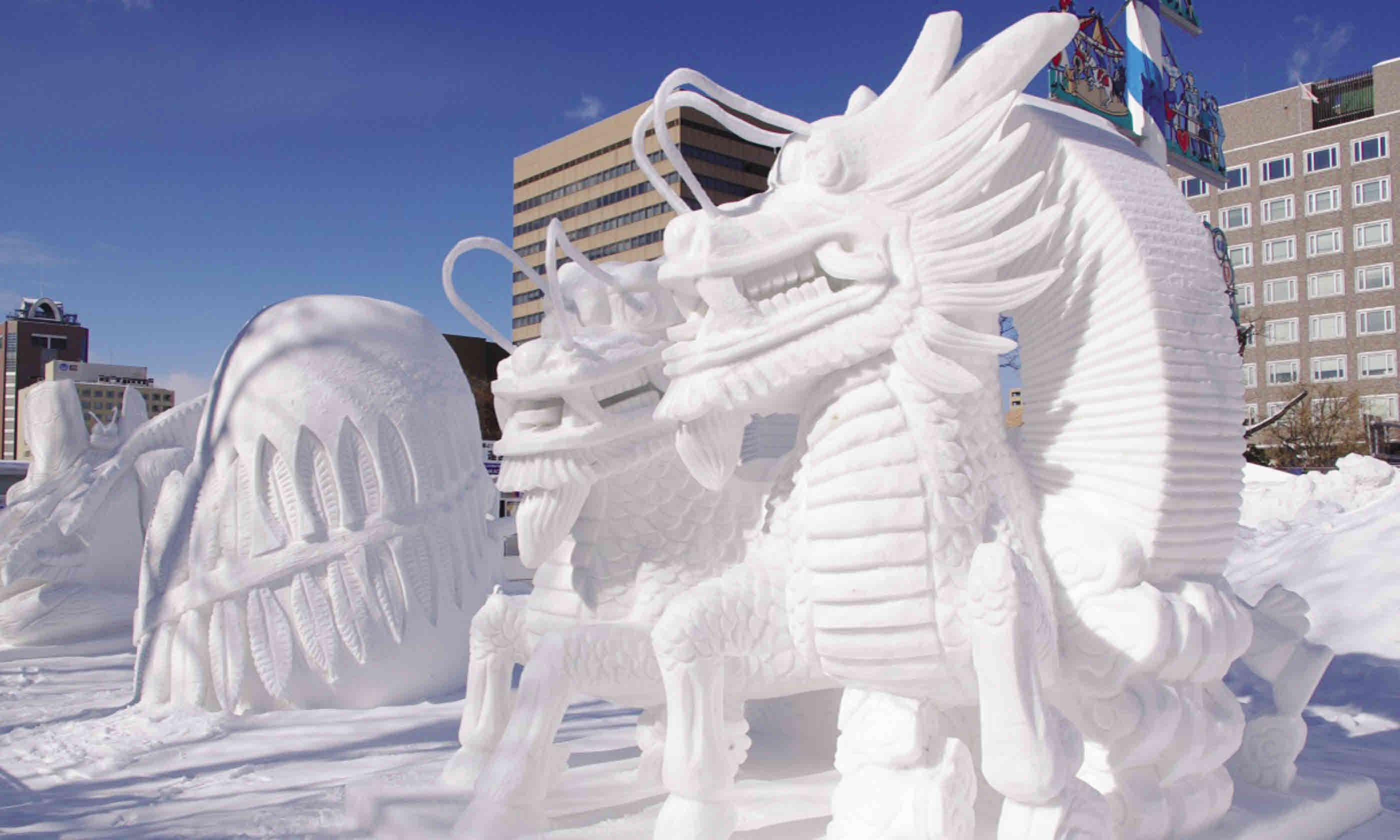Sapporo's Snow and Ice Festival
