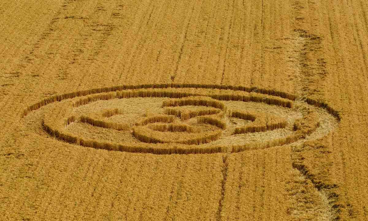 Crop circle (Dreamstime)