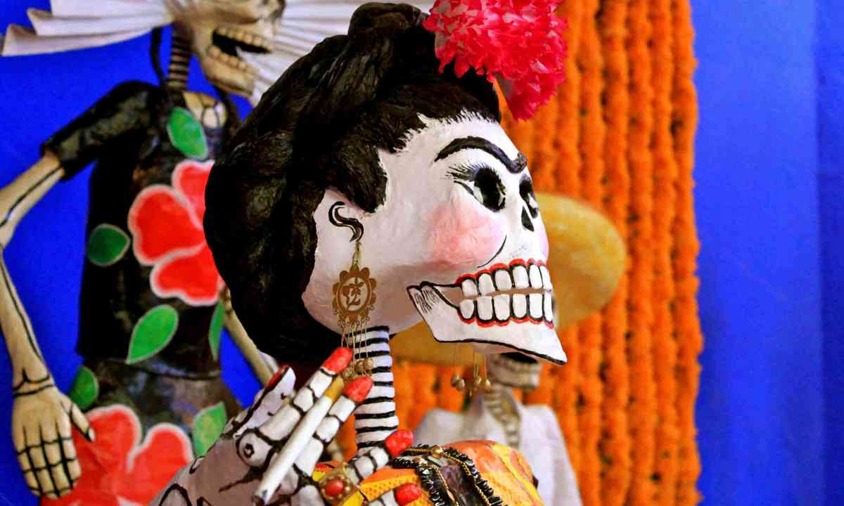 Mexico's Day of the Dead mask