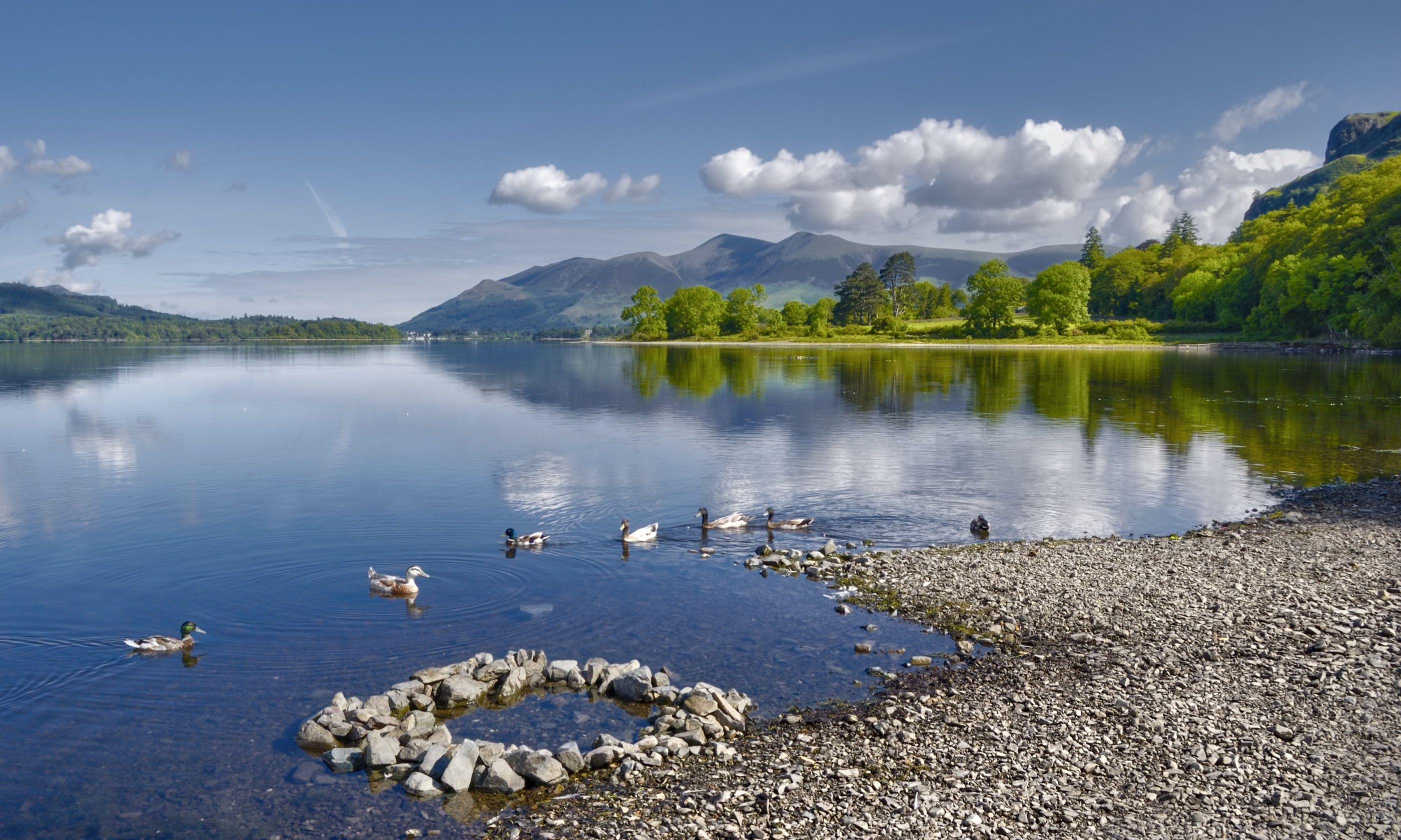 Derwent Water Lake (Dreamstime)