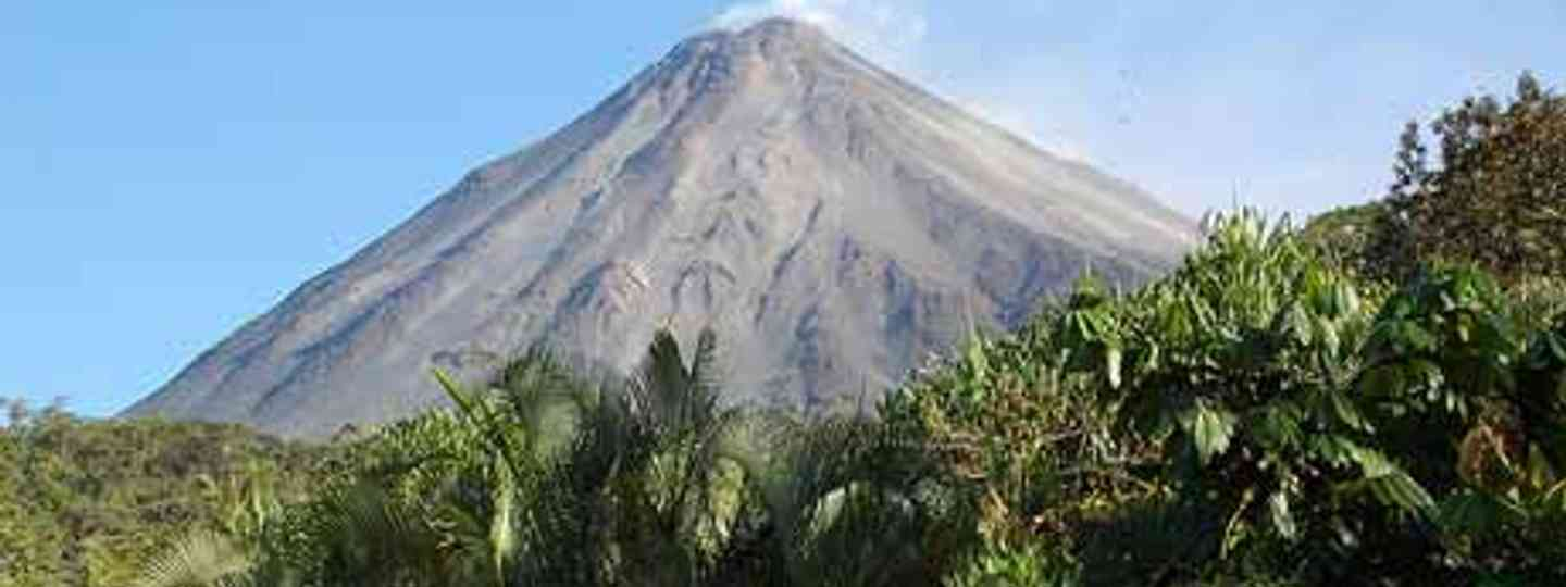Volcan Arenal is known to spout lava at night and rumble occasionally (Arden)