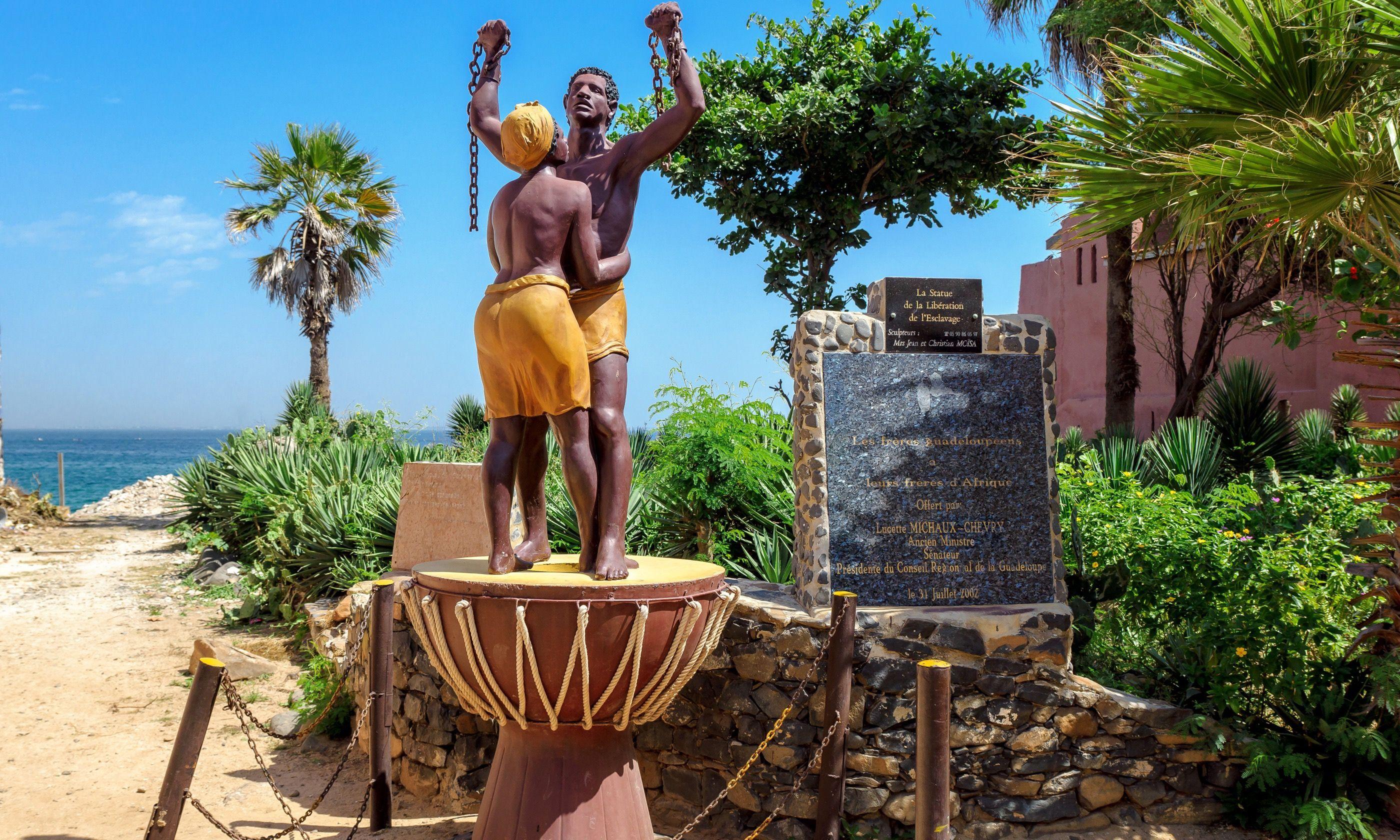 Slavery Freedom Monument, Gorée Island (Shutterstock.com)