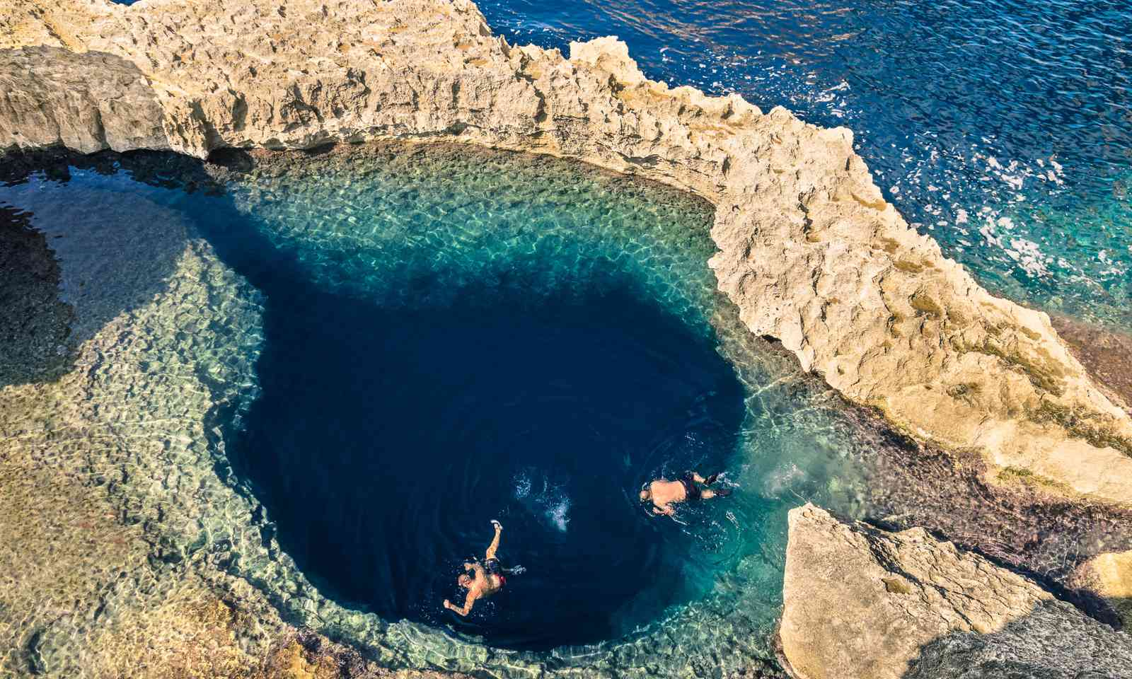 The Blue Hole in Gozo (Dreamstime)