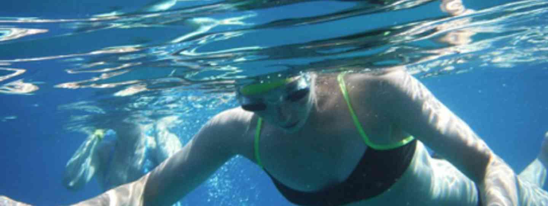 Swimming  the Lycian Way (Amelia Stewart)