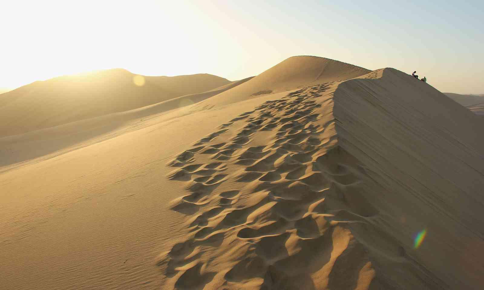 Coastal dunes in Namibia (Dreamstime)