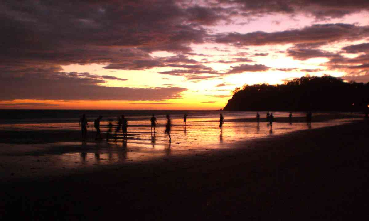 Sunset on the Nicoya Peninsula (Shutterstock.com)