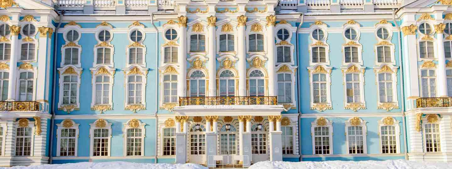 Winter Palace in St Petersburg. In winter. (Shutterstock.com. See main credit below)