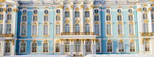 Winter Palace in St Petersburg. In winter. (Shutterstock.com. See main credit below)