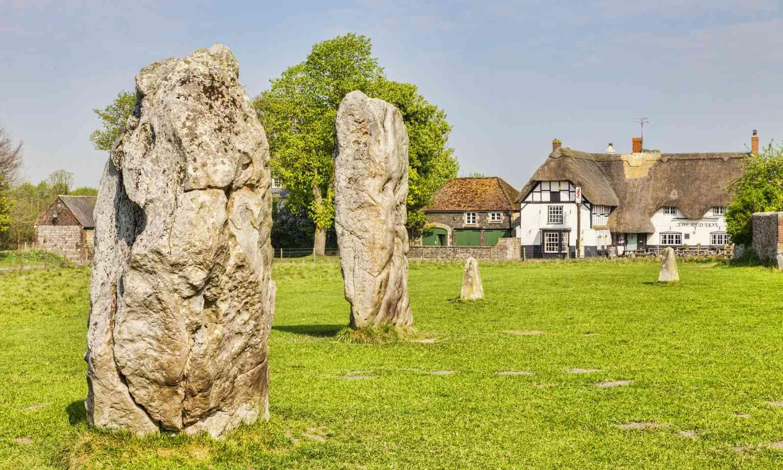 Ancient stone circle in Avebury (Shutterstock.com)
