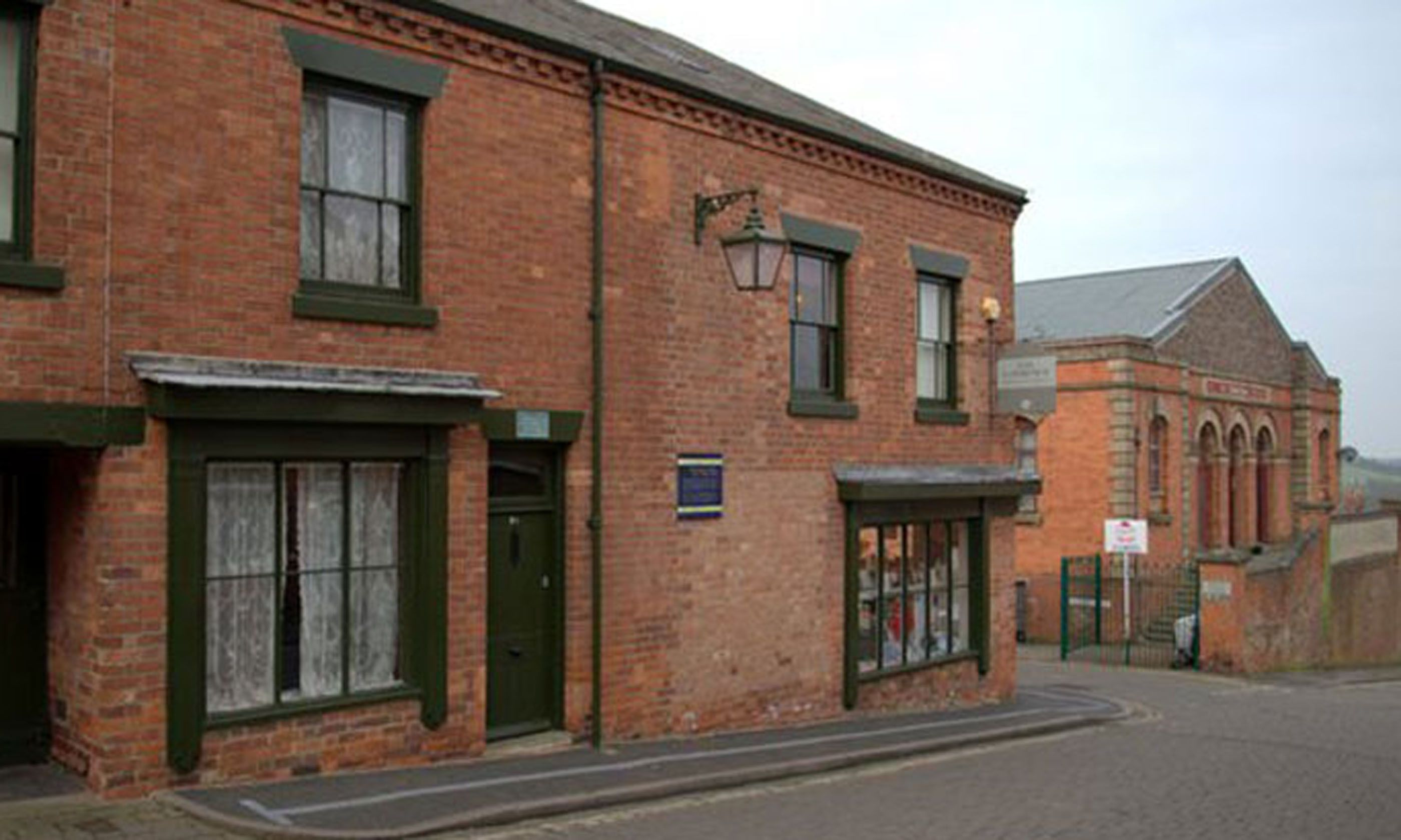 The house where Lawrence was born (DH Lawrence Brithplace Museum)