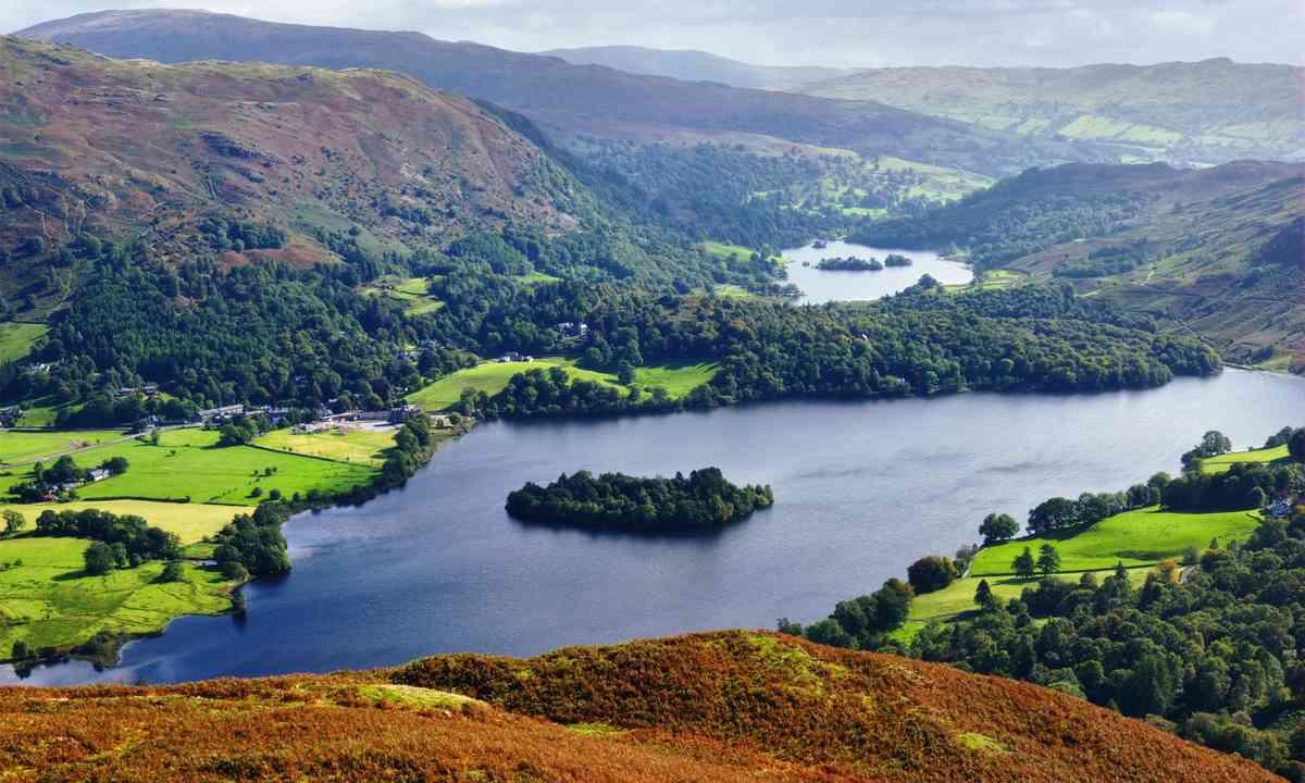 Aerial view of Grasmere (Shutterstock.com)