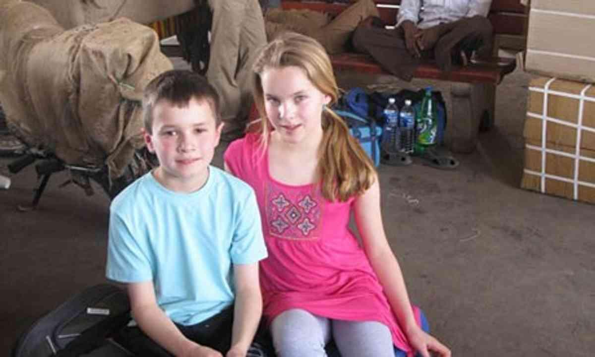 The Gray Children in India (Will Gray)
