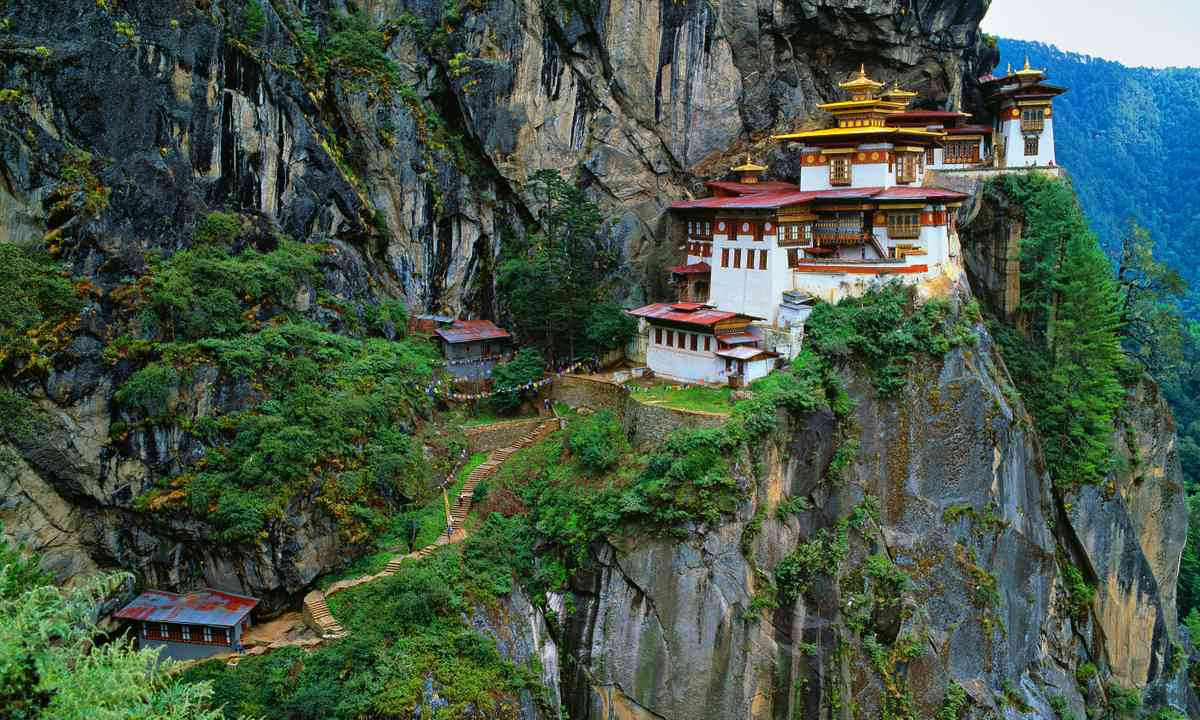Tiger's Nest Monastery, Bhutan (Shutterstock.com)