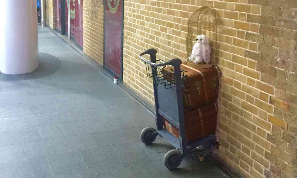 Harry Potter's Luggage cart (Dreamstime)