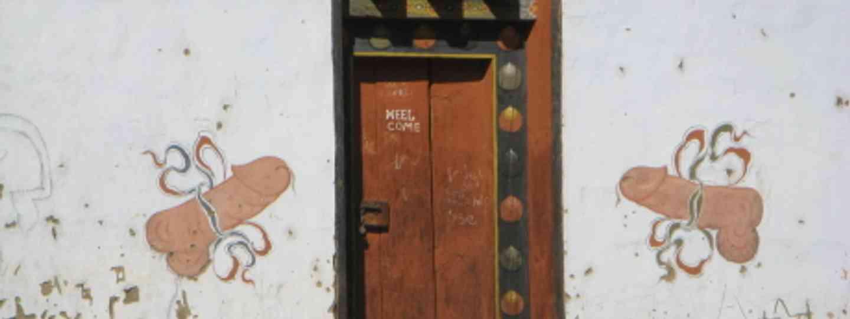 Phallic obsessions in Bhutan (Hilary Bradt)