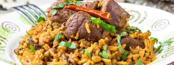 Traditional plov dish (Shutterstock)