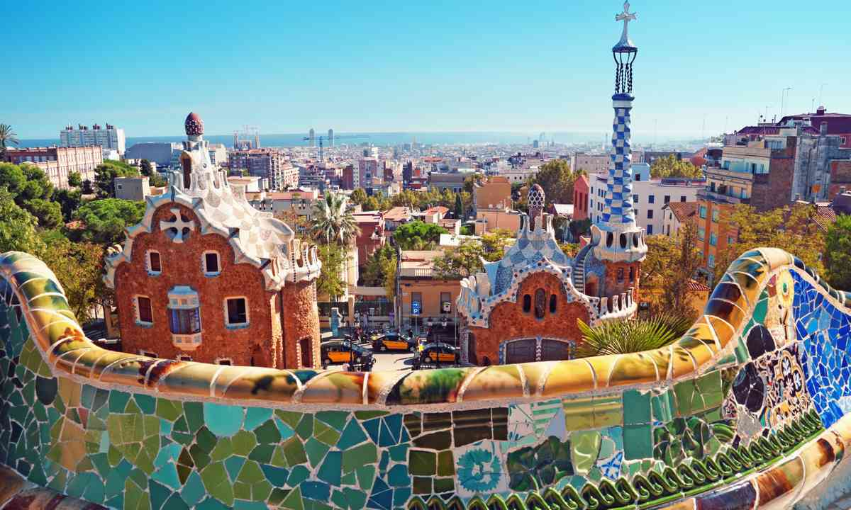 The view from Parc Güell (Dreamstime)