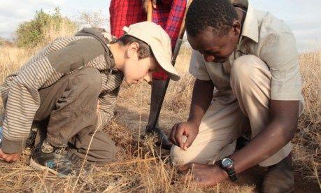 Kids on safari (William Gray)