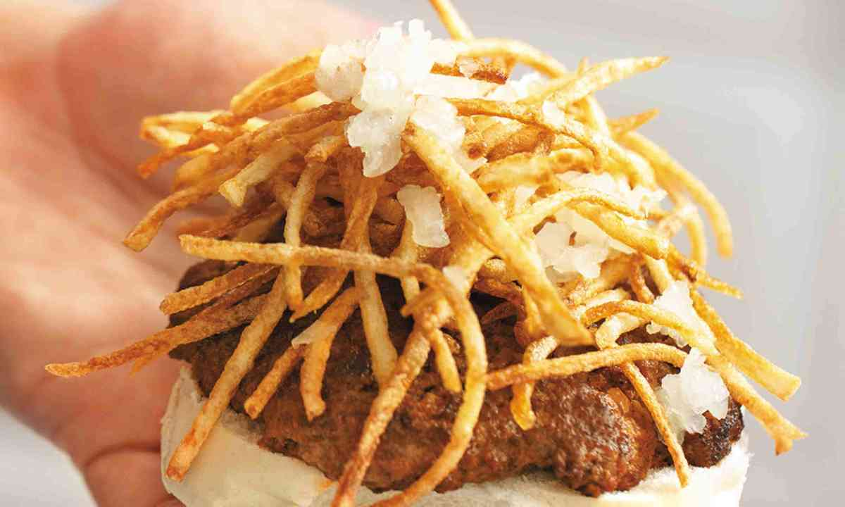 Creating the Cuban Frita