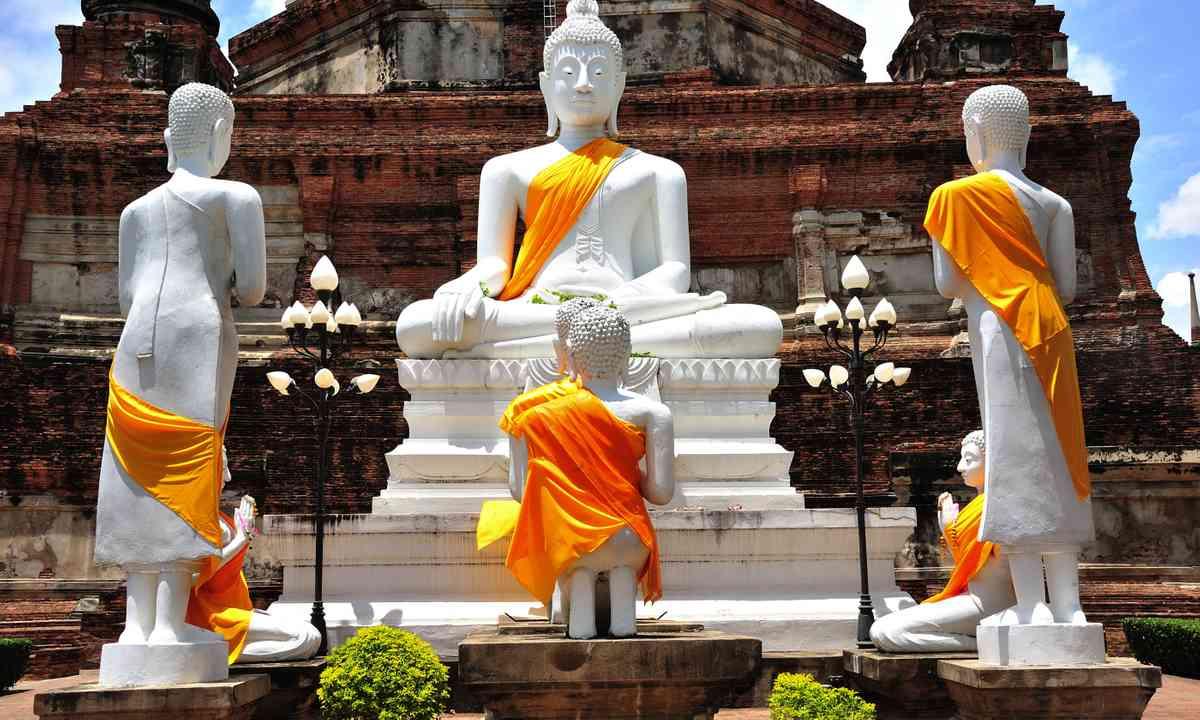 Wat Yai Chai Mongkhon in Ayutthaya (Dreamstime)