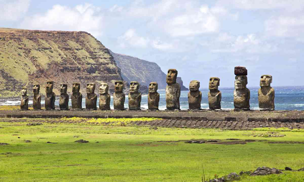 Ahu Tongariki - the largest ahu on Easter Island (Shutterstock)