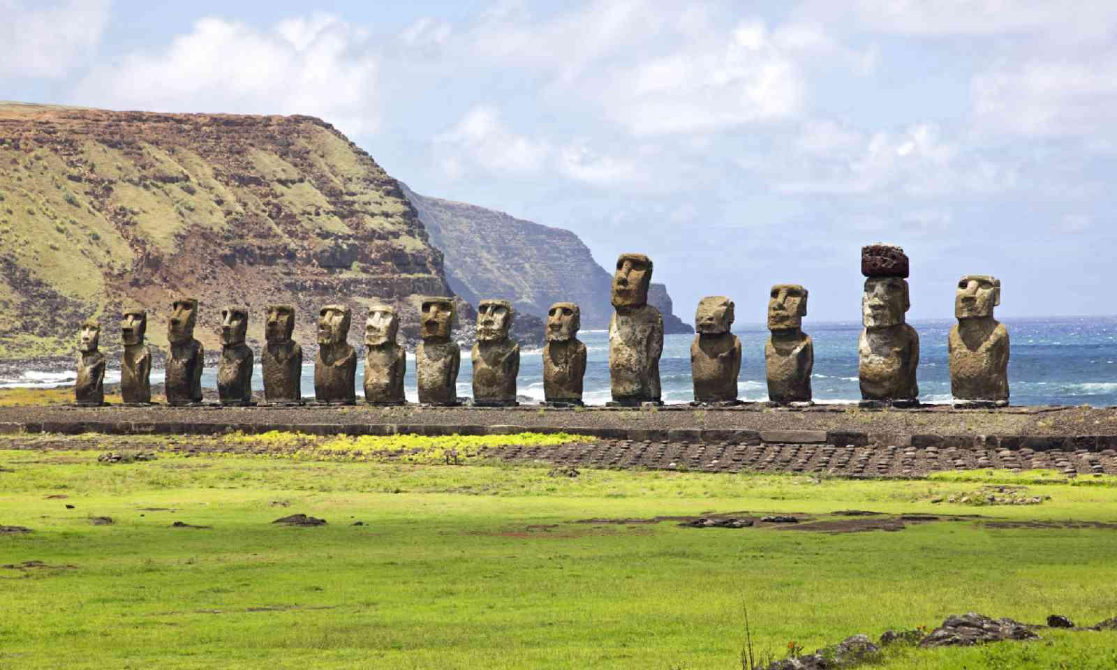 Ahu Tongariki - the largest ahu on Easter Island (Shutterstock)
