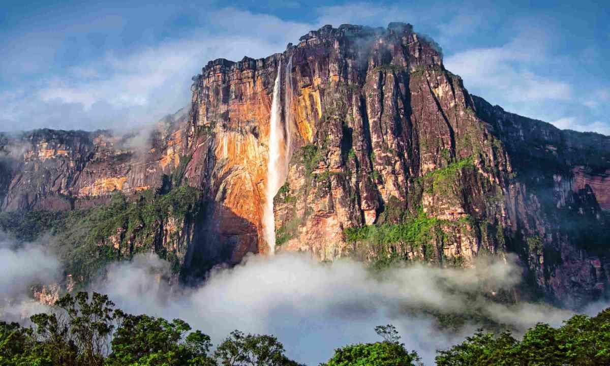 Angel Falls, Venezuela (Dreamstime)