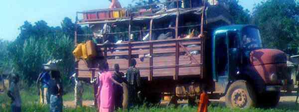 African truck (Marie Javins)