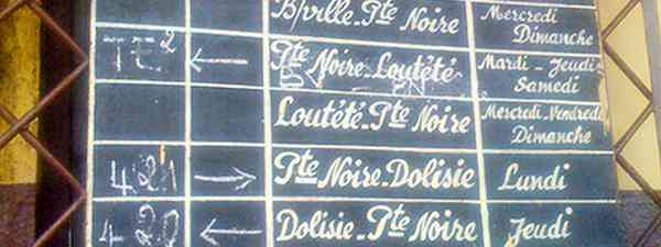 Destination Board (Marie Javins)