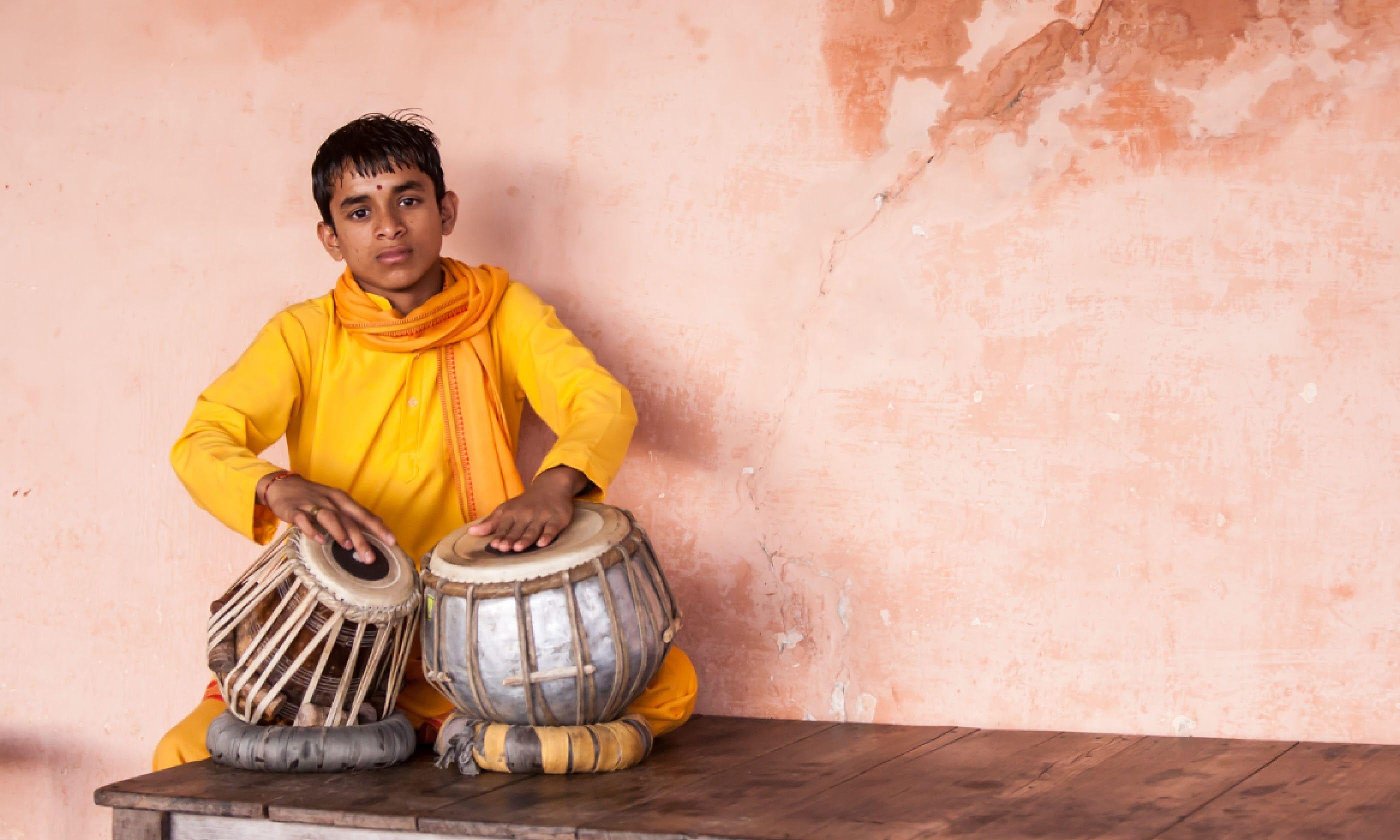 Drummer, Rishikesh (Shutterstock)