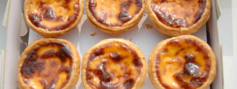 Portuguese custard tarts (nekonoir)
