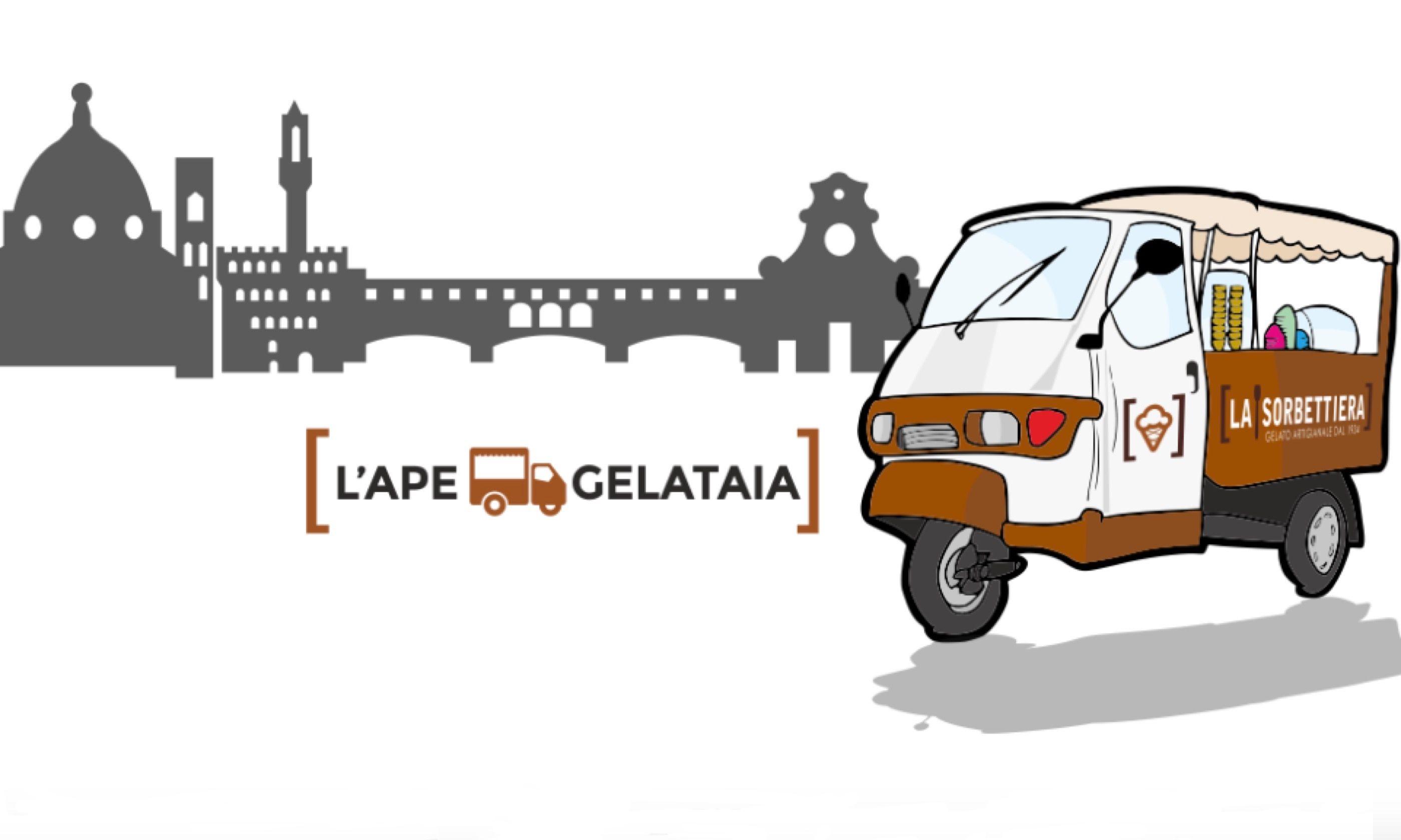 Gelateria La Sorbettiera's mobile gelataria (lasorbettiera.com)
