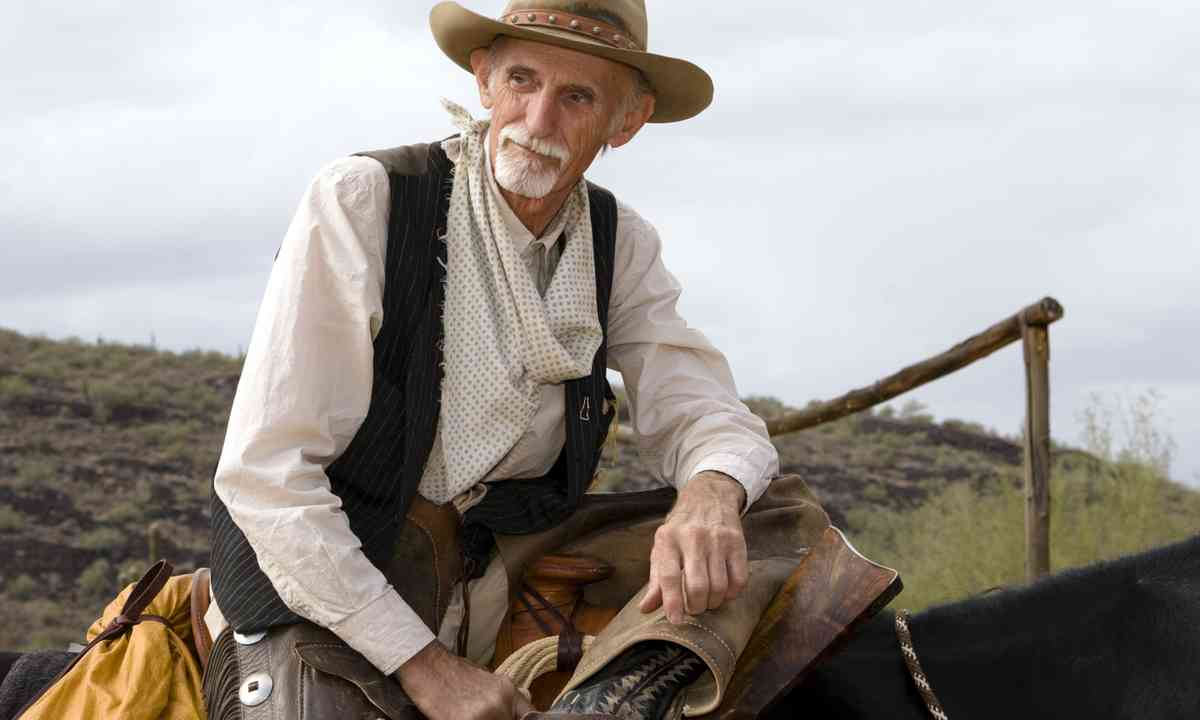 A wise old cowboy (Dreamstime)