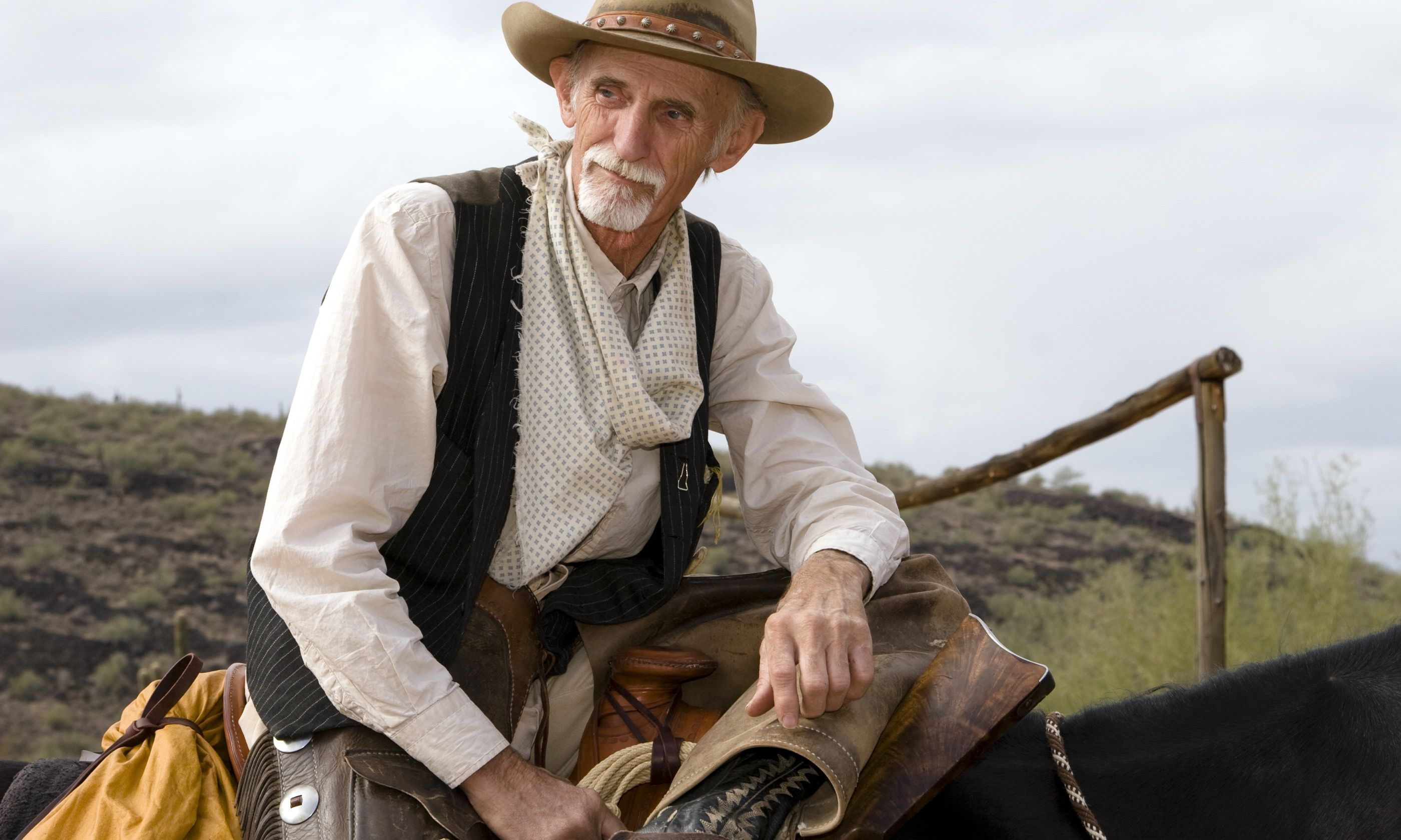A wise old cowboy (Dreamstime)