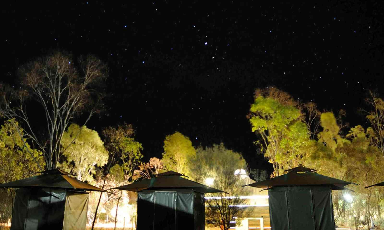 Starry night at Uluru-Kata Tjuta National Park, Australia (Dreamstime)