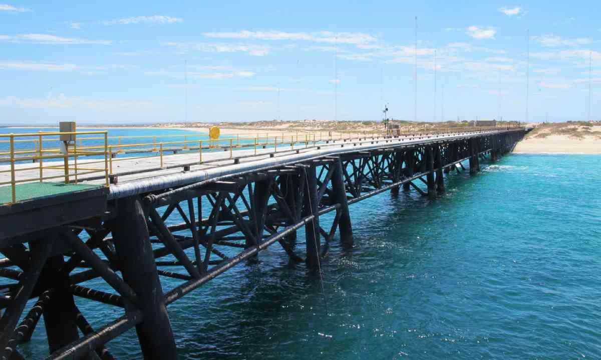Navy peer, Exmouth, Western Australia (Shutterstock)