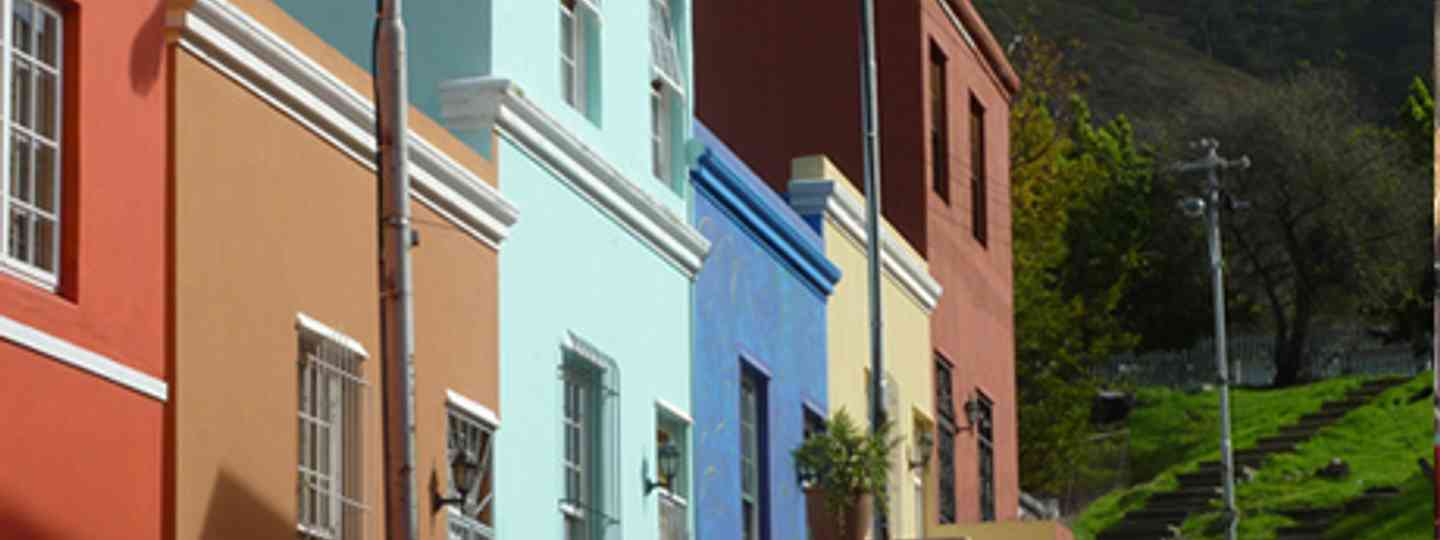 Coloured Houses Cape Town (Marie Javins)