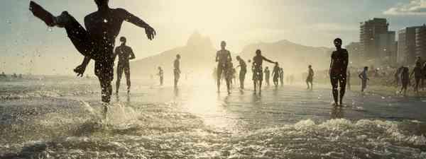 Main image: Beach football, Rio (Dreamtime. See main credit below)