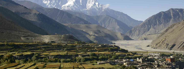 Nearing nirvana in Mustang, Nepal (Shutterstock: see credit below)