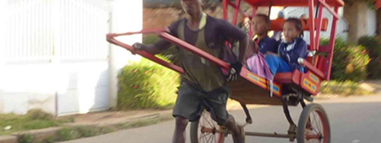 Rickshaw, Madagascar (Marie Javins)