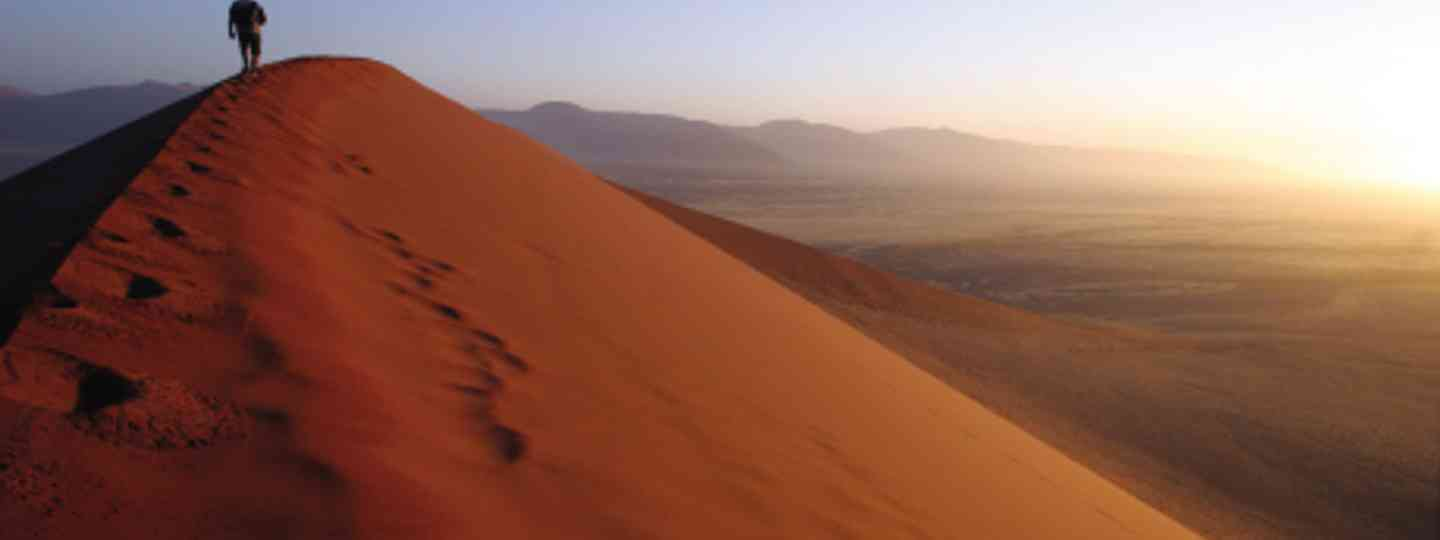 Take to the dunes in Namibia's deserts (iStock)