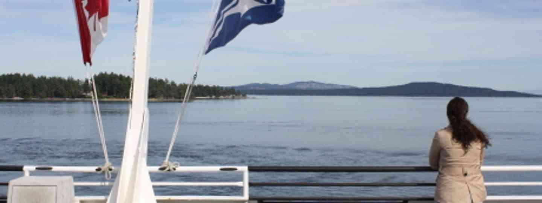 Ferry to Pender Island (Richard McColl)