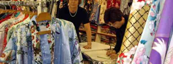 Kimono shop Tokyo