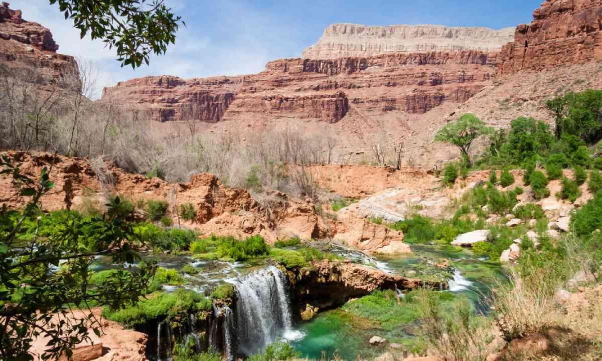 Near village of Supai, Grand Canyon (Shutterstock)