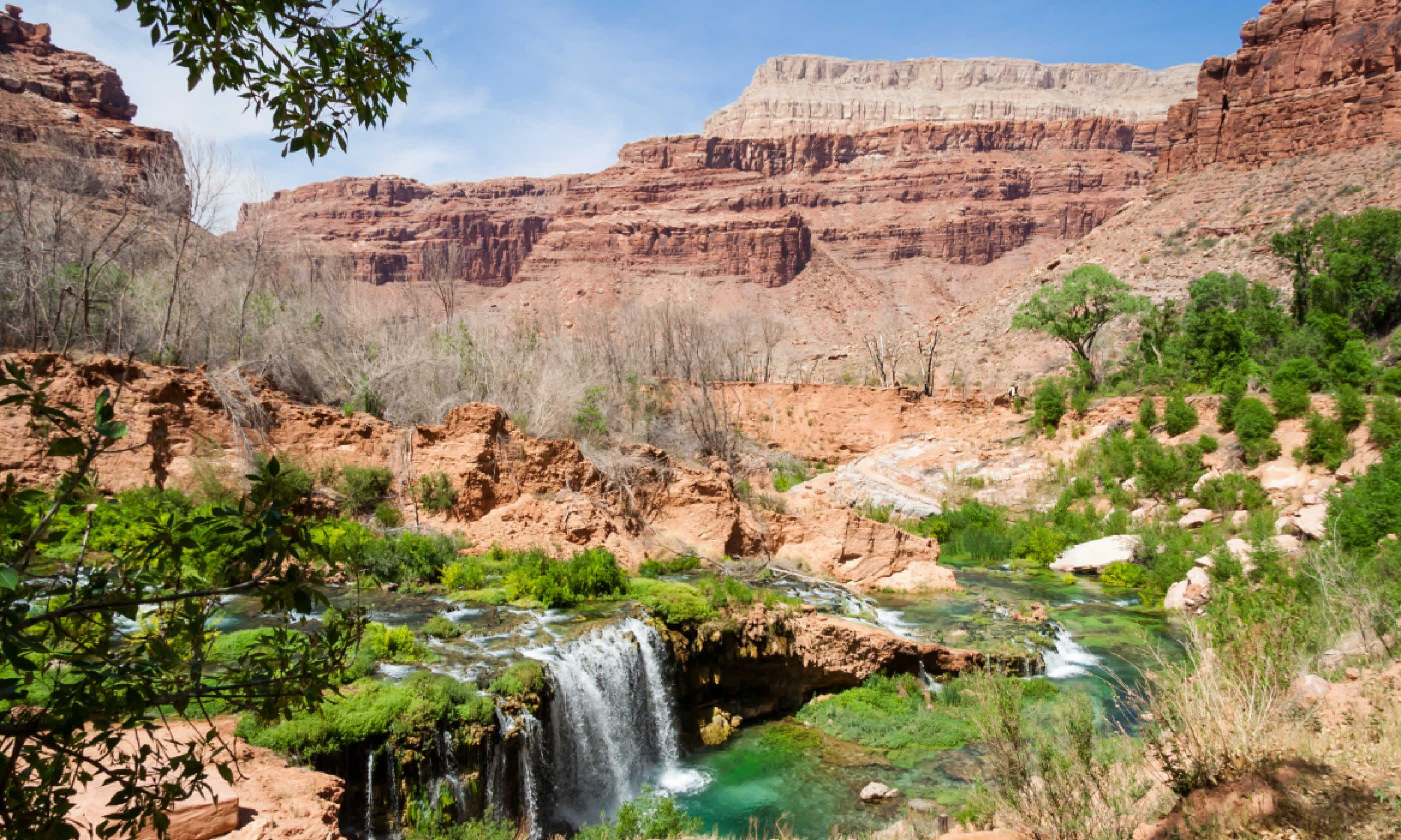 Near village of Supai, Grand Canyon (Shutterstock)