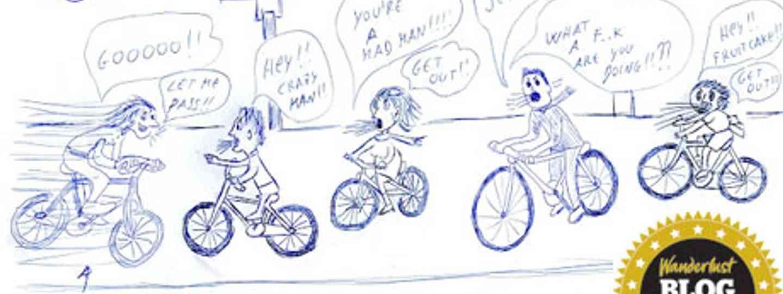 Cycling in Ferrara (Deborah Cater)