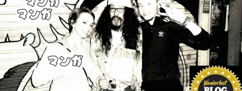 Justin, Melinda and Rikimaru