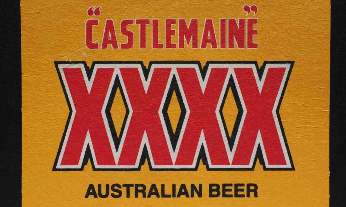 Australian beer Castlemaine XXXX (Shutterstock)