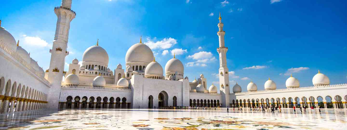 Sheikh Zayed Grand Mosque (Dreamstime. See main credit below)