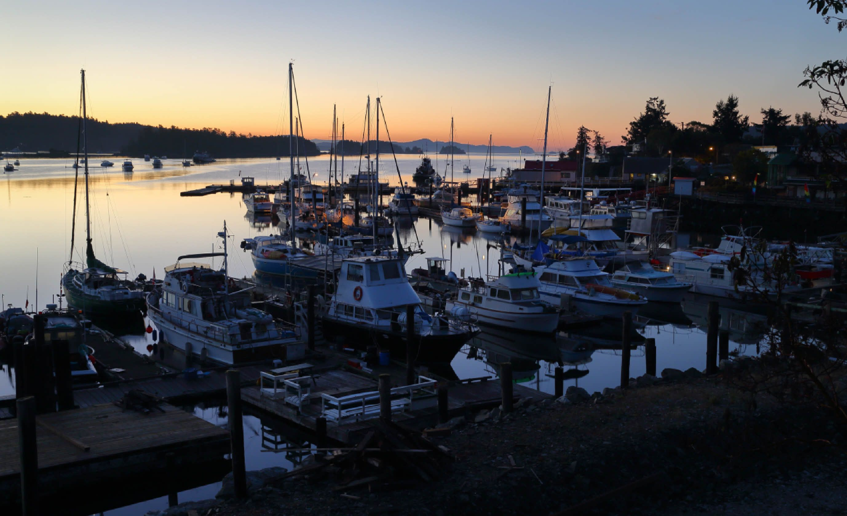 Salt Spring at dawn (Shutterstock)